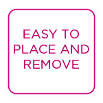 place and remove
